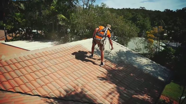 DIY Roof Painting